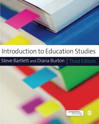 Introduction to Education Studies (Education Studies: Key Issues Series) by Steve Bartlett (2012-04-04)