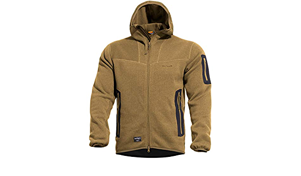 Pentagon Falcon Pro Sweater YKK Mens Knitted Warm Jacket Hiking Outdoor Coyote
