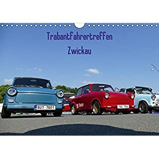 Trabantfahrertreffen Zwickau (Wandkalender 2018 DIN A4 quer): Impressionen des Trabantfahrertreffen (Monatskalender, 14 Seiten ) (CALVENDO Mobilitaet) [Kalender] [Apr 01, 2017] Richter, Heiko