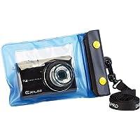 Somikon Unterwasser-Kamerahülle: Unterwasser-Kameratasche S mit Objektivführung Ø 38 mm (Universal Unterwassergehäuse für Kameras)