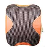 XIONGNA Multifunción Masajeador eléctrico manual simulado Espina cervical Calefacción almohada de masaje Amasar la almohadilla trasera