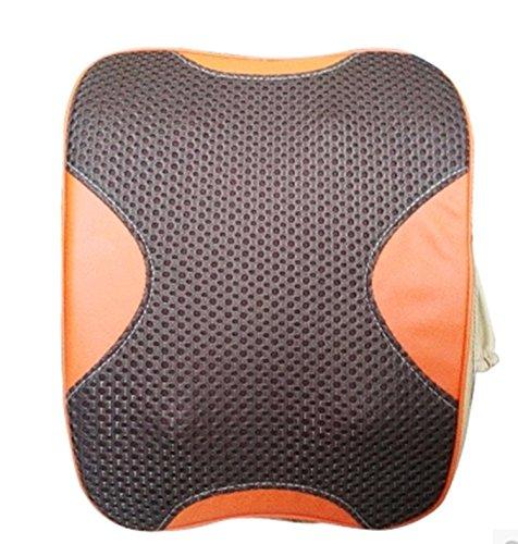 XIONGNA Multifunktions-simulierte manuelle elektrische Massagegerät Halswirbelsäule Heizmassagekissen Kneten Sie den Rückenpolster