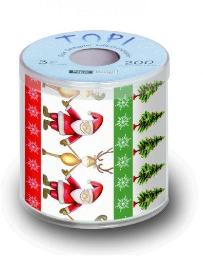 Lustiges Toilettenpapier Weihnachten MOTIV TOGETHER