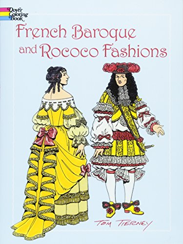 French Baroque and Rococo Fashions (Dover Pictorial -