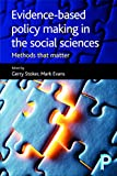 Image de Evidence-based policy making in the social sciences: Methods that matter
