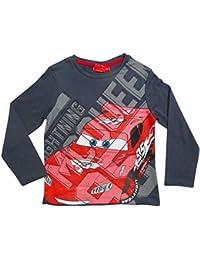 Disney Cars 3 Kollektion 2017 Langarmshirt 92 98 104 110 116 122 128 Shirt Lightning McQueen Anthrazit