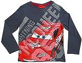 Cars Disney 3 Kollektion 2017 Langarmshirt 92 98 104 110 116 122 128 Shirt Lightning McQueen Anthrazit (98-104, Anthrazit)