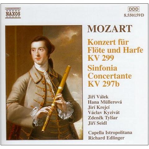 Conc.Para Flauta Y Arpa / Sinf.Conc.K279