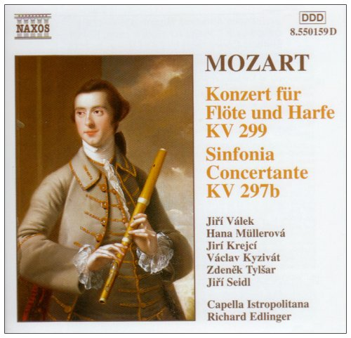Mozart: Concerto for Flute, Harp & Orchestra - Sinfonia Concertante Test