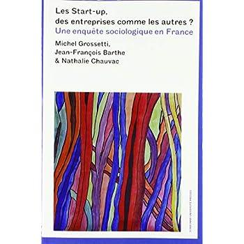 Les start-up, des entreprises comme les autres ? : Une enquête sociologique en France