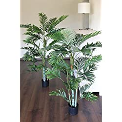 PLANT&STYLE Künstliche Bambuspalme, getopft, 120cm