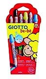 Giotto be-bè- Pack de 6 lápices de Colores, (Fila 469600)