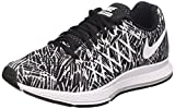 Nike Damen Wmns Air Zoom Pegasus 32 Print Gymnastik, Nero (Black/White), 36 1/2 EU