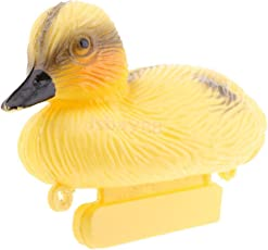 SLB Works 6pc Floating Mallard Duck Decoys Yellow Duck Wildfowling Hunting Fake Bird