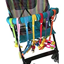 butterme bebé niño juguete Harness Strap Sippy Cup plana Strap soothie Chupete Clip juguete cuerda para cochecito High Chairs asientos de coche de longitud ...