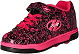 Heelys Mädchen X2 Dual up Turnschuhe, Schwarz (Black/Hot Pink/Graphic), 32 EU
