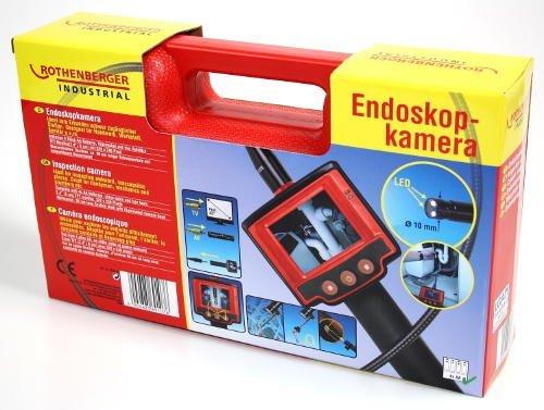 Preisvergleich Produktbild Endoskopkamera von Rothenberger für Inspektion und Fehlersuche mit Farbmonitor