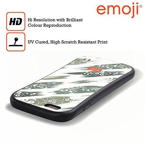 Ufficiale Emoji Scatole Modelli 2 Case Ibrida per Apple iPhone 6 / 6s Dipinto