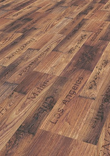 1 m² Printkork, Korkboden zum kleben, Printkork zum kleben, Korkdesignboden in Holzoptik, Korkboden in Holzoptik, Klebekork in Holzoptik - Box