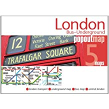 London Bus/underground PopOut Map (Popout Maps)
