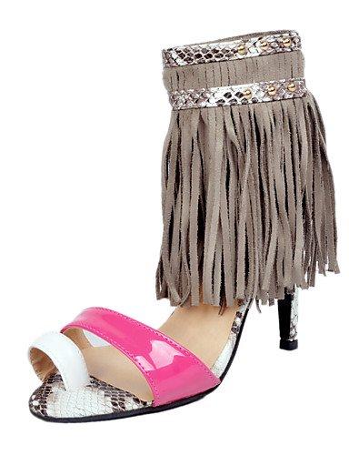 WSS 2016 Chaussures Femme-Soirée & Evénement-Blanc-Talon Aiguille-Talons-Chaussures à Talons / Sandales-Polyuréthane white-us5.5 / eu36 / uk3.5 / cn35