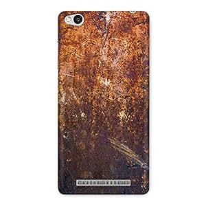 DASM United Xiaomi Redmi 3s Premium Back Case Cover - Grungy Rusted Iron Texture