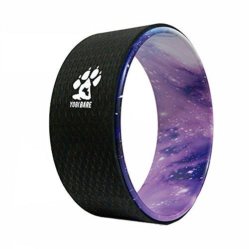Yogi-bare yoga rueda - Flexibilidad ayuda para yoga práctica (Cosmica...