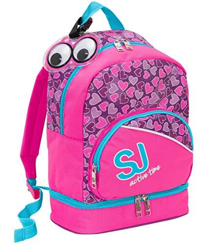 Borsa Zaino con vano Termico SJ Gang Lunch Backpack Rosa o Azzurra 25x35x14,5 cm -SJ Active Time Seven 2018