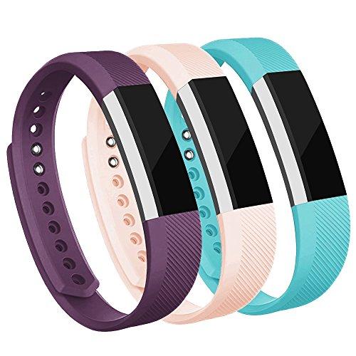 AdePoy Ersatzarmbänder kompatibel für Fitbit Alta/Alta HR, verstellbare Sport Smartwatch Fitness Armband für Frauen Männer