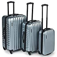 Constellation Athena Silver 3 Piece Luggage Set
