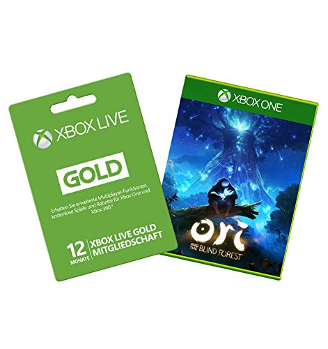 Xbox Live 12 Monate Gold-Mitgliedschaft [Xbox Live Online Code] & Ori and the Blind Forest (DLC) (Xbox Online Game Code 12 Monat)