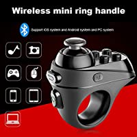 Alftek Wireless Controller Ring Rechargeable Remote Gamepad Bluetooth 4.0 Joystick for Phones VR Glasses