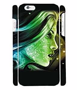 Fuson 3D Printed Fantasy Girl Designer Back Case Cover for Apple iPhone 6S - D1022