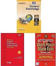 General Knowledge+Wren & Martin High School English Grammar and Composition Book (Regular Edition)+Word Po