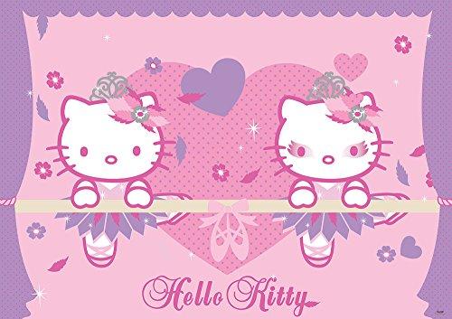 fotomurale-foto-wallpaper-carta-da-parati-foto-poster-hello-kitty-450-sfondo-blu-carta-368cm-breit-x