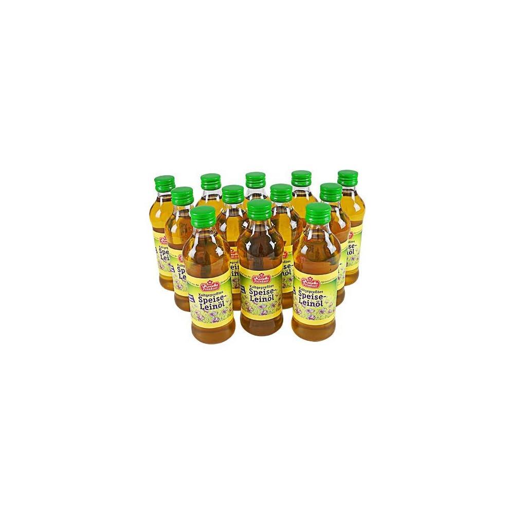 Kaltgepresstes Leinl 12 Flaschen 250 Ml
