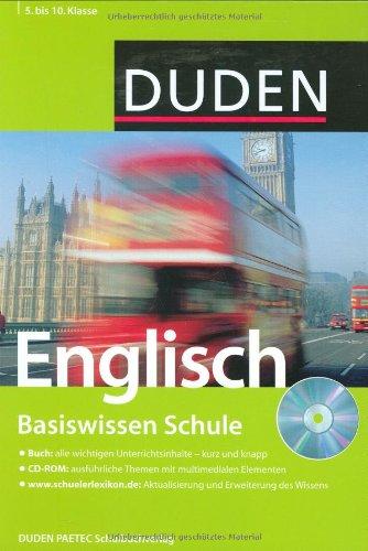 DUDEN Basiswissen Schule: Englisch - 5. bis 10. Klasse