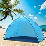 Veena Pop Up Beach Canopy Sun Shade Shelter Outdoor Camping Fishing Tent Mesh
