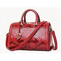 Nouvelle grande fleur Mobile Handbags national Windhand Bills en relief Boston sac pour les femmes