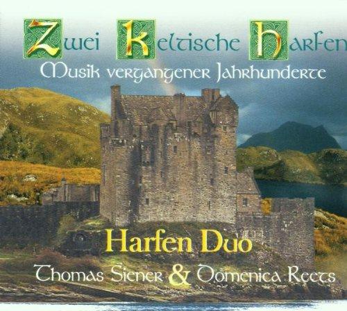 Zwei Keltische Harfen