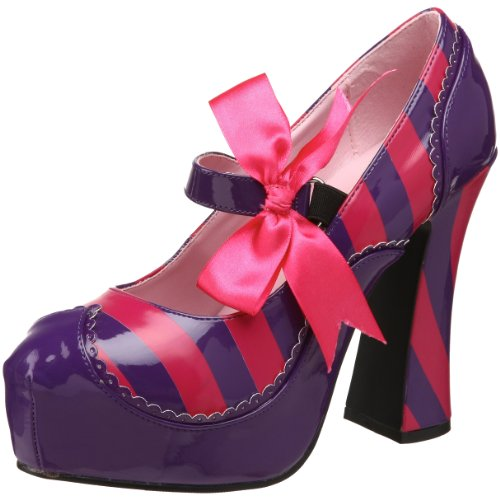 Funtasma KITTY-32 Damen Plateau Pumps, Purple-H. Pink Pat, 40 (Kitty Damen)
