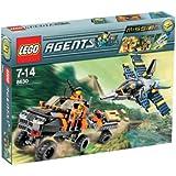 LEGO - 8630 - Jeu de construction - Agents - Mission 3: La chasse à l'or