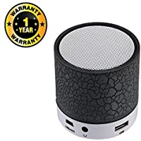 Rhobos S10 Wireless Portable Bluetooth Powerful Speaker with Memory Card & USB Support