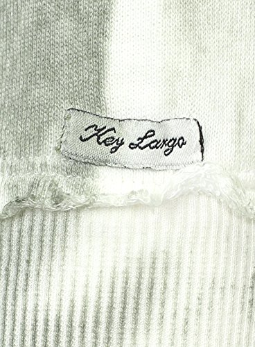 Key Largo Herren Pullover OUTSIDERS Vintage Look Langarm Tattoo Girl New Orleans Grün
