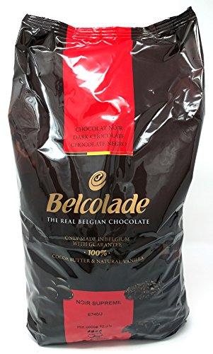 Belcolade 70,5{aa03259e370ed9f6f9ec97f590e9246c23a2231aeb78e9d91bc2fe74b4325901} Extra Bitter Dunkel Schokolade Easimelt Chips 5kg