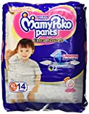 #5: Mamy Poko Extra Absorb XL Pant Style Diapers (14 Count)