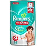 Pampers New X-Large Size Diapers Pants, 56 Count