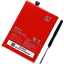 Batería de teléfono móvil interna de repuesto Uniamy BLP571 para OPPO OnePlus One (A0001), con herramientas de instalación incluidas