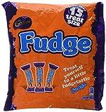 Cadbury Fudge Treatsize Chocolate Bar 15 units, 202g