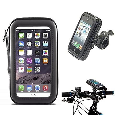 Waterproof Bike Frame Bag Bicycle Handlebar Cellphone Case Cover Mount